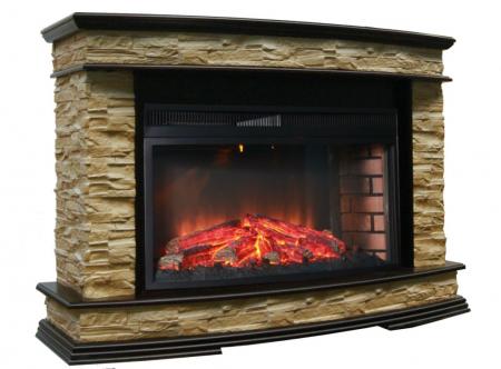 Комплект Памир 33W венге,опалённый камень